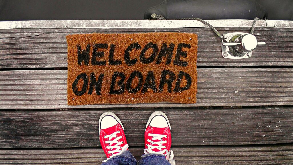 Welcome on board 1